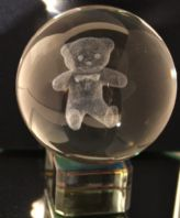 TEDDY CRYSTAL BALL -50mm